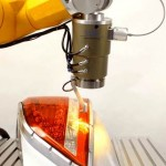 TwinWeld3D Close-up on Tail Lamp Welding Image